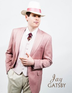 Max Roll as Jay Gatsby